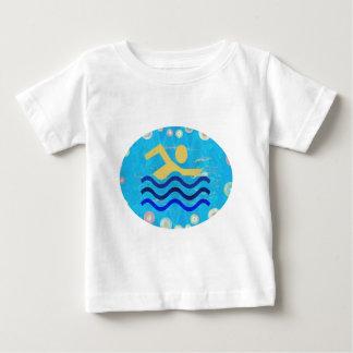T-shirt Pour Bébé Temps chauds mind2 frais de bain