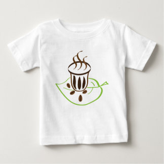 T-shirt Pour Bébé Temps de café