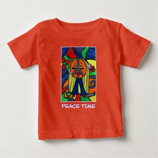 T-shirt Pour Bébé Temps de paix - orange - morceaux de temps