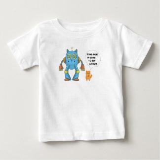 T-shirt Pour Bébé Tenez-vous retournant pour essayer le chat drôle