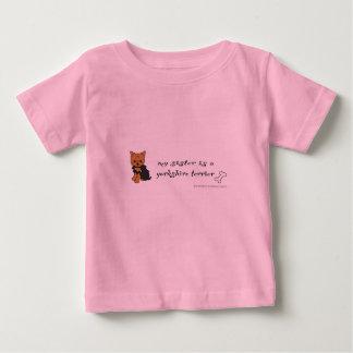 T-shirt Pour Bébé terrier de Yorkshire