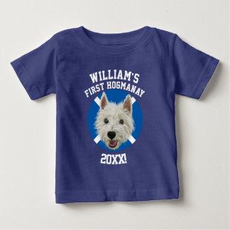 T-shirt Pour Bébé Terrier des montagnes occidental personnalisé