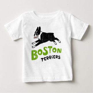 T-shirt Pour Bébé Terriers de Boston
