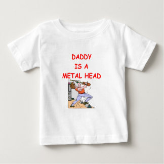 T-shirt Pour Bébé Tête EN MÉTAL