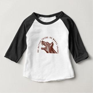 T-shirt Pour Bébé Texte de chien de berger allemand