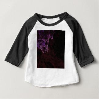 T-shirt Pour Bébé texture mystérieuse pourpre foncée