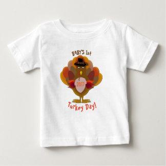 T-shirt Pour Bébé Thanksgiving