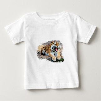 T-shirt Pour Bébé tiger