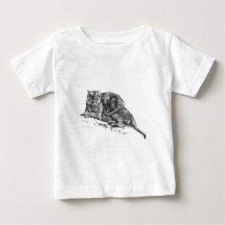 T-shirt Pour Bébé Tiger and cub - design by Schukina g023