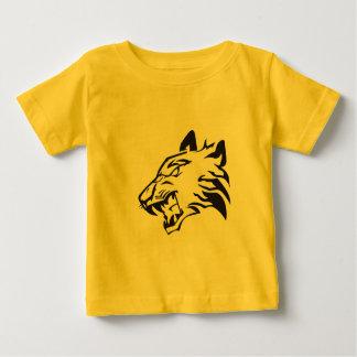 T-shirt Pour Bébé Tiger Raw Tigre Griffe