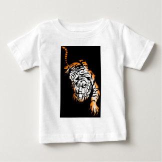 T-shirt Pour Bébé Tiger tribal
