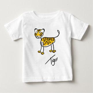 T-shirt Pour Bébé Tigre de Timmy