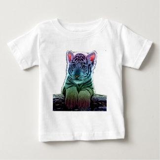 T-shirt Pour Bébé tigre multi colors