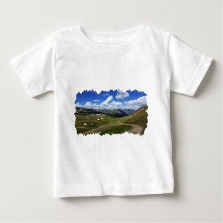 T-shirt Pour Bébé Tir de traînée de passage d'ingénieur