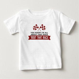 T-shirt Pour Bébé Tout au sujet de ce circuit de voitures de course