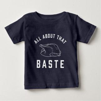 T-shirt Pour Bébé Tout au sujet du ce arrosez le thanksgiving
