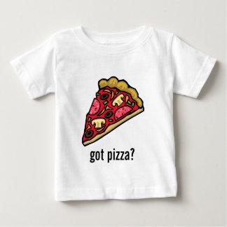 T-shirt Pour Bébé Tranche de pizza avec de divers écrimages