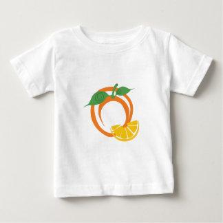 T-shirt Pour Bébé Tranches oranges
