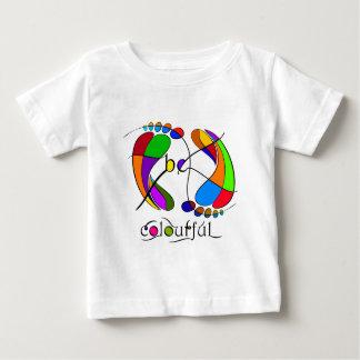 T-shirt Pour Bébé Trapsanella - soyez coloré