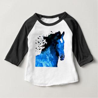 T-shirt Pour Bébé Triangle de cheval