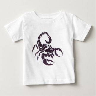 T-shirt Pour Bébé Tribal scorpion