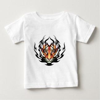T-shirt Pour Bébé Tribal tiger