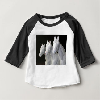 T-shirt Pour Bébé trois-chevaux