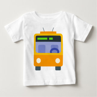 T-shirt Pour Bébé Trolleybus