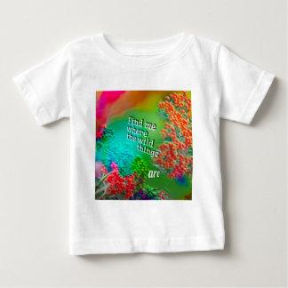 T-shirt Pour Bébé Trouvez-moi où j'aime être