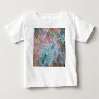 T-shirt Pour Bébé Tuiles de toit colorées - PaintingZ