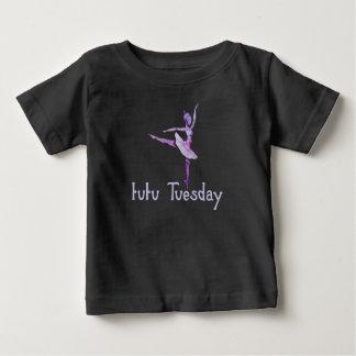 T-shirt Pour Bébé Tutu mardi