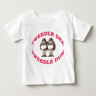 T-shirt Pour Bébé Tweedle Dee et Tweedle Dum