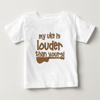 T-shirt Pour Bébé Ukulélé drôle