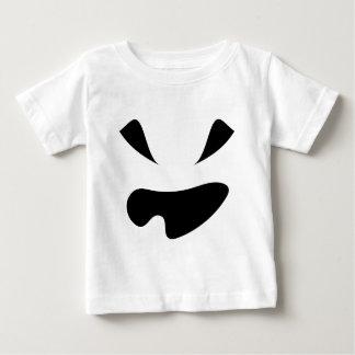 T-shirt Pour Bébé Un citrouille de Jack-o'-lantern de dent