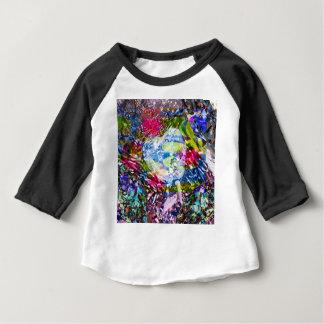 T-shirt Pour Bébé Un coeur de diamant brille sur l'étang