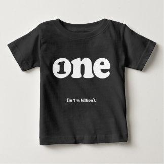 T-shirt Pour Bébé un dans (7,5) milliards de pièce en t