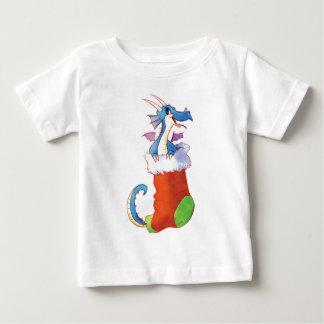 T-shirt Pour Bébé Un dragon dans mon bas