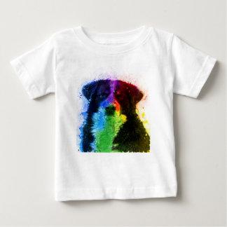 T-shirt Pour Bébé Un plus grand bloc de couleur de chien de montagne