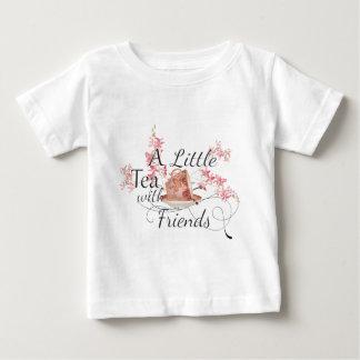T-shirt Pour Bébé Une peu de flaque le thé avec des amis