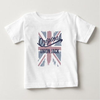 T-shirt Pour Bébé Union Jack original