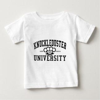 T-shirt Pour Bébé Université de coup de poing