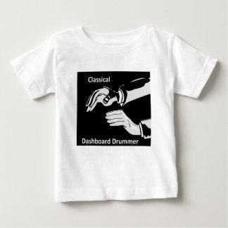 T-shirt Pour Bébé Usage classique de batteur de tableau de bord