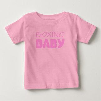 T-shirt Pour Bébé Usage de bébé de boxe