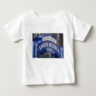 T-shirt Pour Bébé Vacances de plage de la Californie de plage de