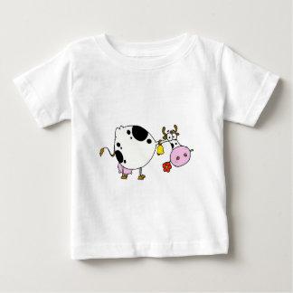 T-shirt Pour Bébé vache