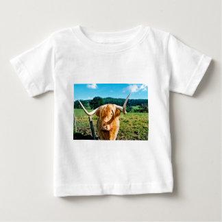 T-shirt Pour Bébé Vache des montagnes