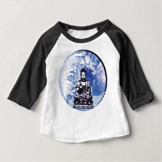 T-shirt Pour Bébé Vague d'eau profonde de Bouddha