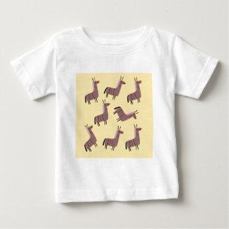 T-shirt Pour Bébé Vanille de lamas