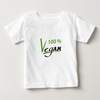 T-shirt Pour Bébé Végétalien de 100 pour cent