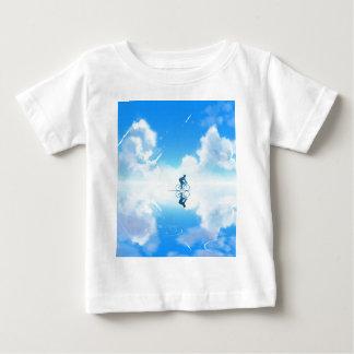 T-shirt Pour Bébé Vélo de flottement